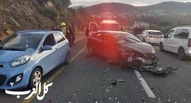 4 اصابات بحادث طرق قرب وادي سلامة