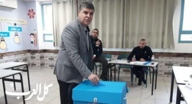 أم الفحم: رئيس البلدية د. سمير محاميد يدلي بصوته