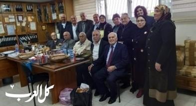 مدرسة عرعرة الثانويّة تستقبل 17 أديبًا فلسطينيًا