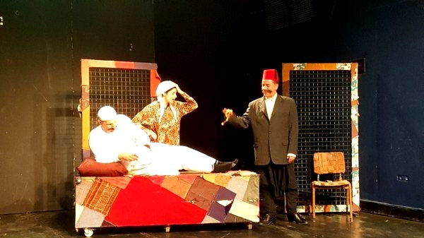 عكا: عروض مسرحية في اورط الشافعي