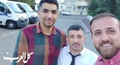 اطلاق سراح الناشطين معاذ خطيب وعلي ابو ليل