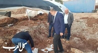 النائب وليد طه: نرفض أعمال الحفريات في مقبرة صفد