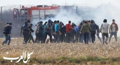 اليونان: الشرطة التركية تدفع المهاجرين نحو الحدود