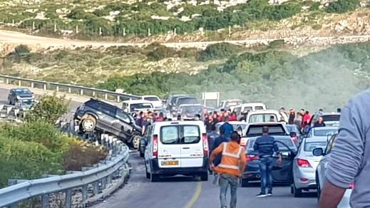 مصرع 3 اشخاص في حادث طرق مروّع قرب برطعة