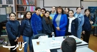 البعينة: يوم اللغة العربية في مدرسة النجاح