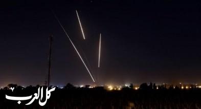 إطلاق قذيفة صاروخية من قطاع غزة