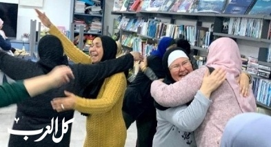 مجموعة وردات عكا النسائية تشارك بورشة