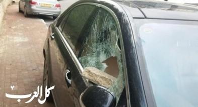الناصرة: تهام شاب باقتحام 4 سيارات