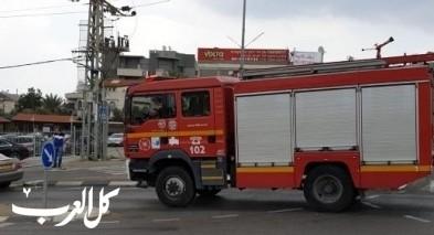 اندلاع حريق داخل منزل في الزرازير
