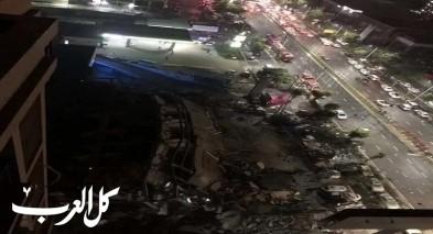 70 محاصراً من مصابي كورونا في انهيار فندق