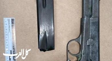 باقة الغربية: اعتقال مشتبه بحيازة سلاح غير قانوني
