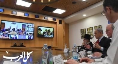 نتنياهو يجري مؤتمرا مرئيا حول فيروس كورونا