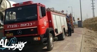 الجنوب: إندلاع حريق بمحل تجاري في أبو قويدر