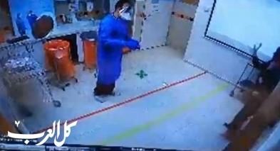 فيديو من قسم الحجر الصحيّ بمستشفى رمبام