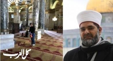 مدير الاقصى: عمليات تعقيم المسجد مستمرة