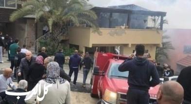مصمص: اندلاع حريق بمنزل دون إصابات