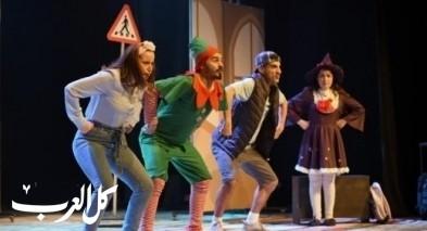 الناصرة: عرض تجريبي اول لمسرحية نيسانة وعبقور