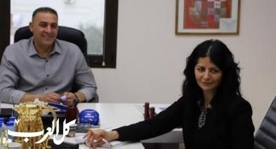رئيس مجلس كفرقرع يجتمع بمفتشات المدارس
