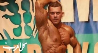ابراهيم مصري يفوز بالمرتبة الاولى في بطولة اسرائيل