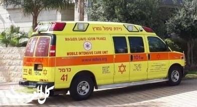 يانوح جت: إصابة شابة بجراح جرّاء إنقلاب سيارة