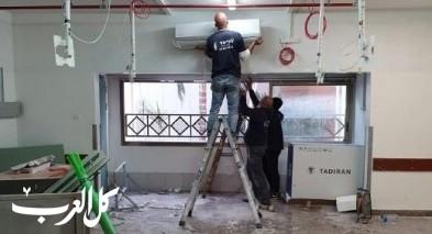 إنشاء قسم جديد في مستشفى رمبام لمرضى كورونا