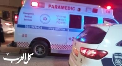 كفرقرع: اصابة شاب بجراح اثر شجار داخل محل تجاري