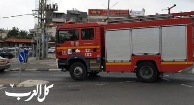 اندلاع حريق داخل منزل في شعب