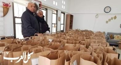 مجلس الزرازير يوزع وجبات طعام على المسنين