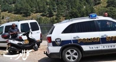 الشرطة تغلق مفرق اكسال لمعالجة جسم مشبوه