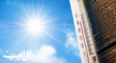 حالة الطقس: درجات الحرارة آخذة بالارتفاع