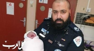 عرعرة: سيدة تلد طفلتها بمدخل غرفة الولادة!