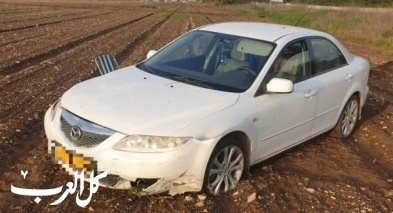 إصابتان إثر انحراف سيارة قرب كفرقرع