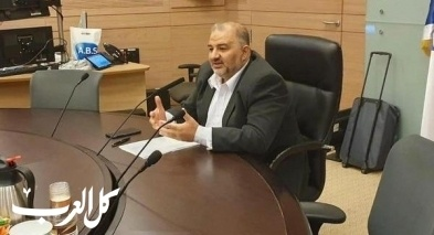 عباس رئيسًا للجنة محاربة العنف بالمجتمع العربي