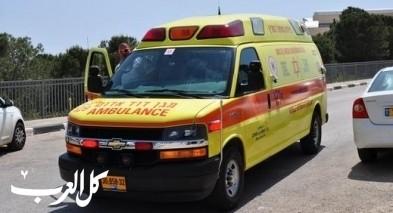 إصابة خطيرة لسائق دراجة نارية بحادث قرب محمية الحولة