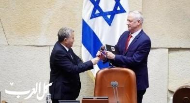 بيني غانتس رئيسًا للكنيست الإسرائيلي