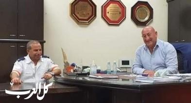 جلسة عمل مثمرة بمجلس دير الأسد