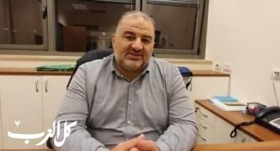 د. منصور عباس: رفضنا صفقة جانتس نتنياهو