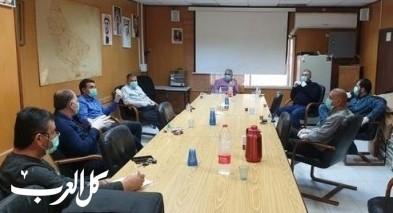 بلدية طمرة تستعد لتصعيد الإجراءات لمنع إنتشار الفيروس