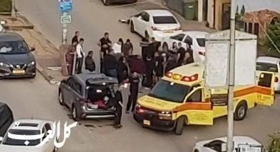 اصابة متوسطة لفتى في جلجولية تعرض للدهس