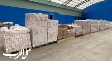 زيمر: تجهيز 500 طرد غذائي للعائلات المتعففة