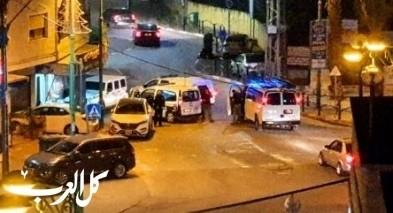 كفركنا: اصابة 3 شبان باطلاق نار واعتقال مشتبه