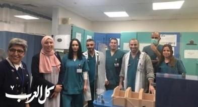 النائب خطيب بزيارة لمستشفى النمساوي في الناصرة