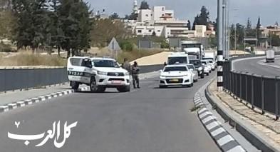 كورونا| الشرطة تنصب حواجز في زيمر