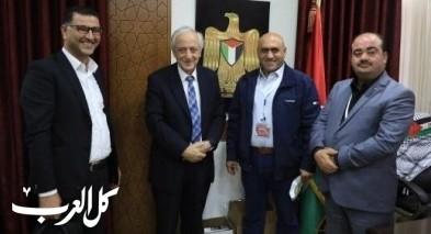الجامعة العربية الامريكية تتبرع للجنة الطوارئ في جنين