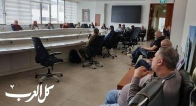 بلدية الناصرة تبحث مستجدات كورونا