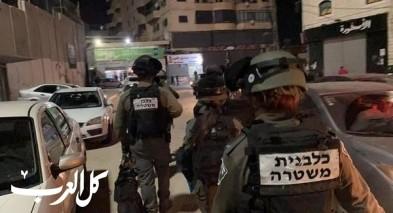 الشرطة تستنفر في شعفاط: اعتقال شبان