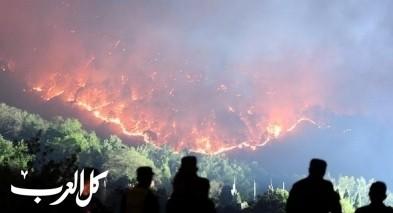 كوارث الصين: الغابات تشتعل بالنيران