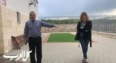 رئيس بستان المرج يلتقي مفتشة وزارة الرفاه