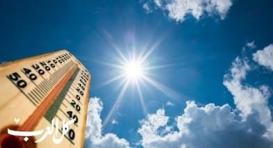 الطقس: أجواء حارة وجافة وارتفاع درجات الحرارة