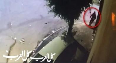 توثيق بالفيديو للحظة إنفجار سيارة في كفر برا